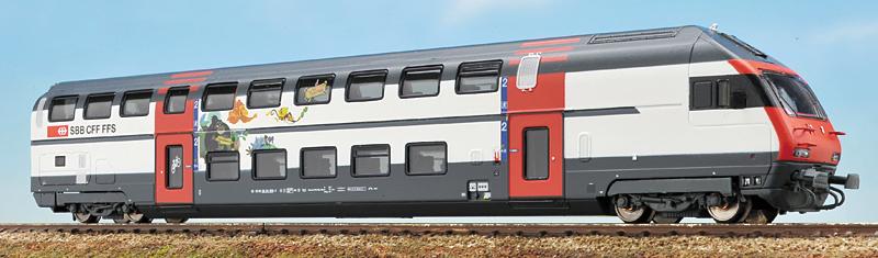 スイス国鉄 IC2000客車 最新仕様...