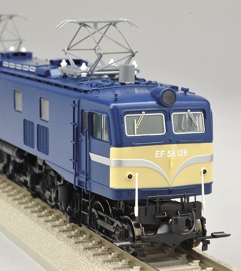 国鉄 EF58 小窓 Hゴム・前面警戒色
